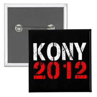 Pin del botón de KONY 2012