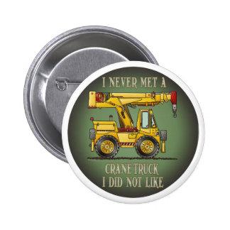 Pin del botón de la cita del operador de camión de