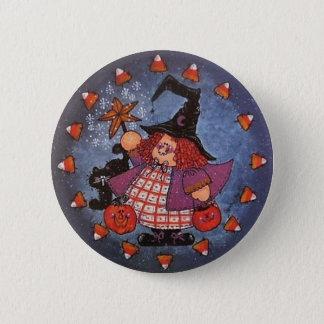 Pin del botón de Witchy Poo