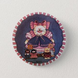 Pin del botón del gatito de Camila