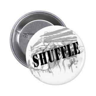 Pin del logotipo de la barajadura chapa redonda de 5 cm