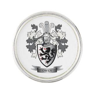 Pin Escudo de armas del escudo de la familia de Owen