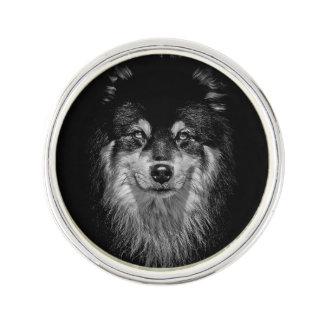 Pin finlandés de la solapa de Lapphund