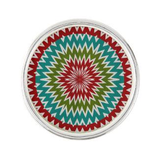 Pin Flor mandalaic hipnótica