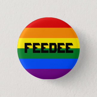Pin gay de Feedee Chapa Redonda De 2,5 Cm