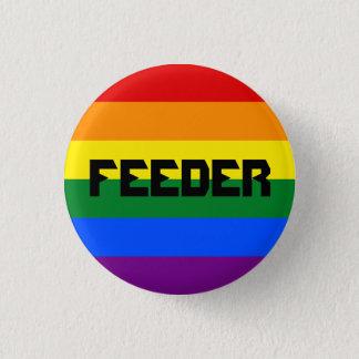 Pin gay del alimentador chapa redonda de 2,5 cm
