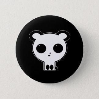 Pin gótico Kawaii del botón de la panda