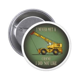 Pin grande del botón de la cita del operador de gr