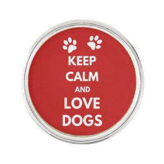 Pin Guarde la calma y ame los perros
