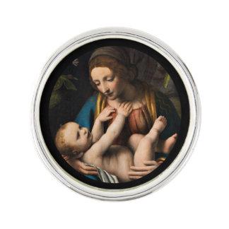 Pin MED Kristusbarnet de Madonna