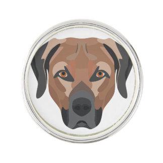 Pin Perro Brown Labrador del ilustracion