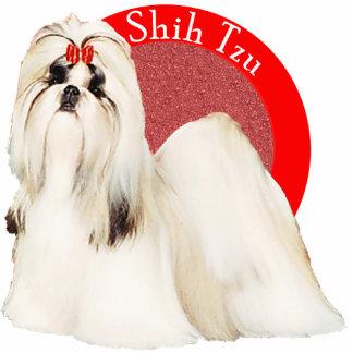 Pin rojo de la foto de Shih Tzu Escultura Fotografica
