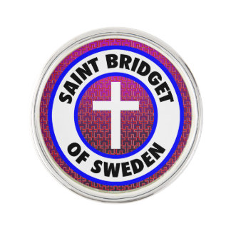 Pin Santo Bridget de Suecia