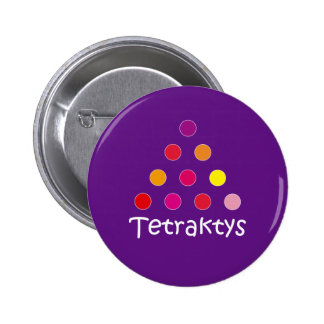 Pin Tetraktys Chapa Redonda De 5 Cm
