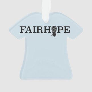 Piña de Fairhope Alabama - ornamento del navidad