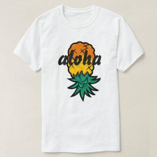 Piña de la hawaiana camisetas