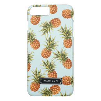 Piña de la menta personalizada funda iPhone 7 plus