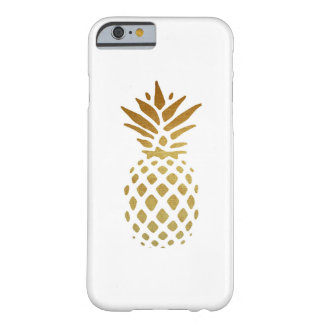 Piña de oro, fruta en oro funda barely there iPhone 6