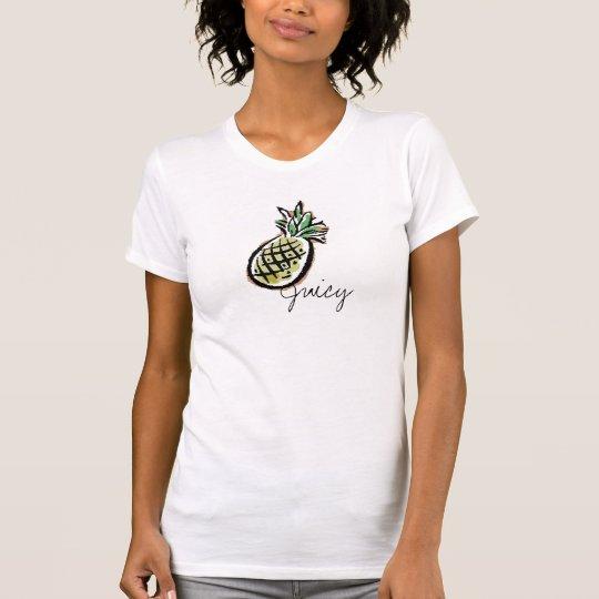 Piña jugosa camiseta
