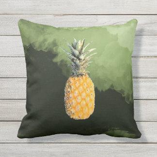 piña y plátanos cojín
