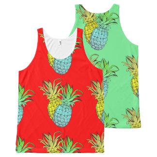 Piñas - camiseta tropical