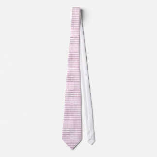 Piñas rosadas corbata personalizada