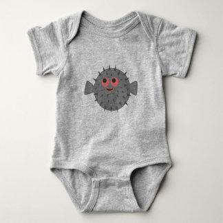 Pinball el mono del niño del fumador body para bebé