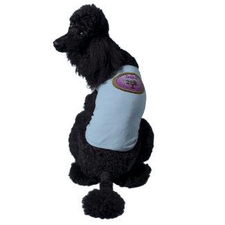 Pincher del cojín del logro de la interferencia camiseta sin mangas para perro