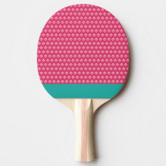 Ping-pong rosado pala de ping pong