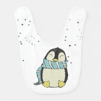 Pingüino Babero Para Bebé