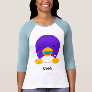 Pingüino, camisa fresca