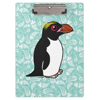 Pingüino de los macarrones de Birdorable Carpeta De Pinza