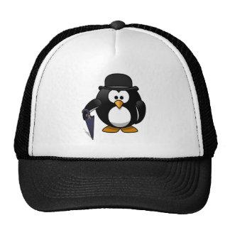 Pingüino de lujo gorro