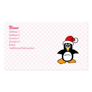 Pingüino de Patrick Tarjetas De Visita