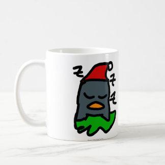 Pingüino de Zzz del día de fiesta por diseños del Taza