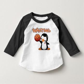 Pingüino del baloncesto camisas