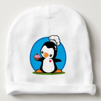 Pingüino del cocinero gorrito para bebe