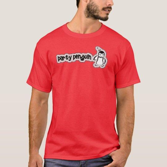 Pingüino del fiesta camiseta