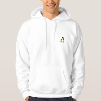 pingüino del linux sudadera