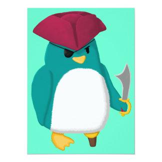 Pingüino del pirata anuncios