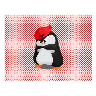 Pingüino enojado de Hip Hop Postal