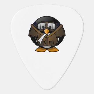 Pingüino experimental uñeta de guitarra