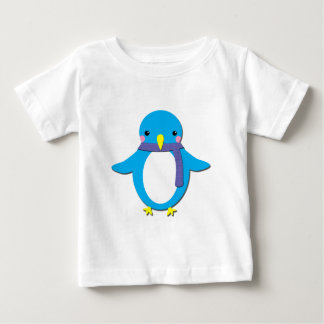 Pingüino lindo camiseta para bebé