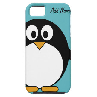 Pingüino lindo del dibujo animado - iPhone 5 iPhone 5 Case-Mate Protector