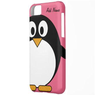 Pingüino lindo del dibujo animado - tacto de iPod Carcasa Para iPhone 5C
