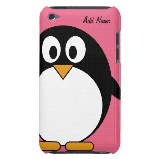 Pingüino lindo del dibujo animado - tacto de iPod Case-Mate iPod Touch Carcasa