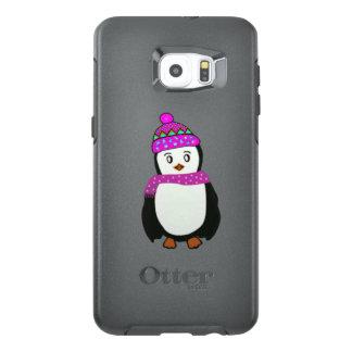 Pingüino lindo funda OtterBox para samsung galaxy s6 edge plus