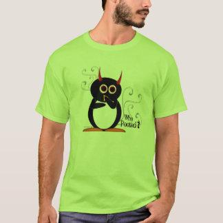 ¿Pingüino malvado quién Pooted? Camiseta