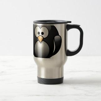 Pingüino/Penguin Taza De Viaje De Acero Inoxidable