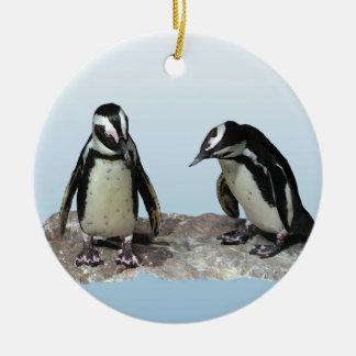 Pingüinos Ornamentos Para Reyes Magos